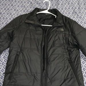 All black North Face puffers jacket!!
